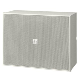 "TOA, 6"" Double Cone wood box speaker, Wall mount, Metal grill, 6W, 100V line (Taps at 2.5, 5,10W),"