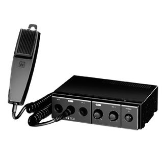 TOA, Amplifier, 15 watt, DC power, includes microphone