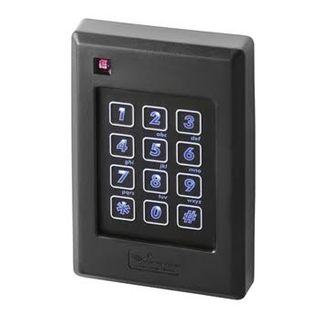 "KERI, Delta series, Mifare proximity reader/keypad, 4x3 style, Up to 2"" (51mm) read range, Backlit keys, Built in buzzer, 3 colour LED, Lifetime warranty, 5-14V DC 175mA,"