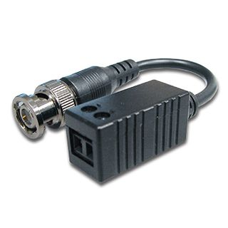 XTENDR, Balun, HD analogue, suits AHD, HD-CVI and HD-TVI signal, 720p at 300m, 1080p at 200m, Wall mountable slim line case, BNC male (on 120mm tail) to screw terminals, Passive,