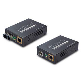 PLANET, Gigabit Ethernet Media converter, Complies to 1000Base-SX SFP Fibre port, IEEE802.3af/at POE, 10/100/1000Base T, RJ45 port,