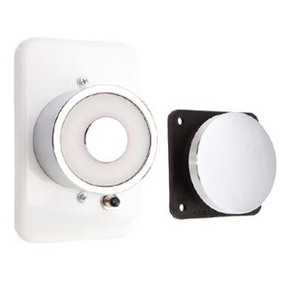 FSH, Electromagnetic door holder, Wall mount, 40kg holding force, 24V DC, 50mA