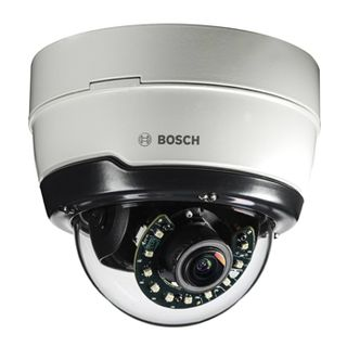 "BOSCH, Flexidome IP outdoor 5000i, Network vandal dome camera, IR, 5MP, 1/2.9"", Day/Night (ICR), WDR, 3-10mm lens, Auto Varifocal, 0Lux (IR), IP66, IK10, 12VDC/POE,"