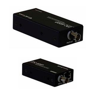 EnConn, POE over Coax converter, Two channel, Kit includes: 1 x POE-IPC-600T , 2 x POE-IPC-600R, 1 x BNC Splitter & 1 x PWR-60-48 Power Supply