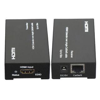 XTENDR, HDMI extender, 1080p, requires single Cat5e/6 cable, 50 metre, EDID copy, HDMI V1.3,