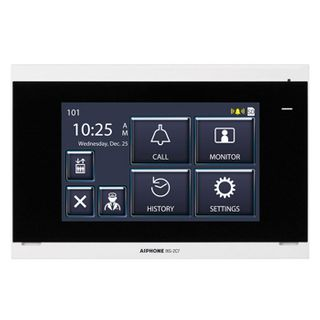 """AIPHONE, IX Series, Room station, 7"""" LCD, Video, Colour, Hands free, Thin profile, Call tone mute with indicator, IP Direct communication, POE,"""