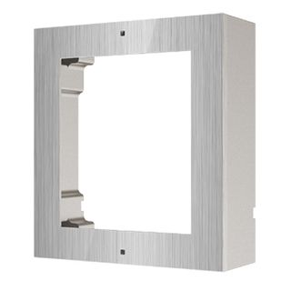 HIKVISION, Intercom, Gen 2, 1 Module, Surface mount enclosure, Stainless Steel, fits 2 modules, with accessories, box 219x107x32.7mm,