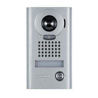 AIPHONE, JK Series, Door station, Video, Colour, Silver, Surface mount, Vandal resistant, Suits JK1MD and JK1MED,