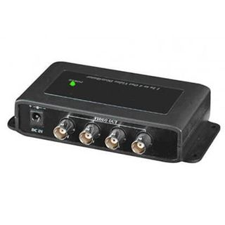 XTENDR, Video Distributor, 1 input 4 output video distributor, suits AHD, HD-CVI and HD-TVI signal,