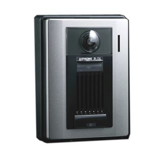 AIPHONE, JK Series, Door station, Video, Colour, Silver plastic, Surface mount, Wide angle, Zoom, Pan tilt, Suits JK1MED,