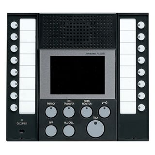 AIPHONE, AX Series, Room station, Master, Video, Colour, 8 call,
