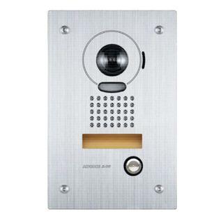 AIPHONE, JK Series, Door station, Video, Colour, Stainless steel plate, Flush mount, Vandal resistant, Suits JK1MD and JK1MED,