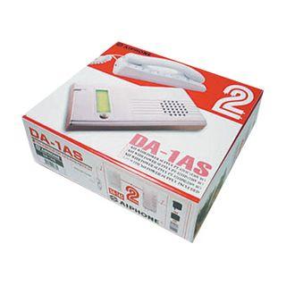AIPHONE, DA Series, Audio intercom kit, Silver door station, Includes DA1MD handset, Silver 1 call door station, 16V AC P/S,