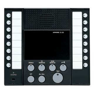 AIPHONE, AX Series, Room station, Master, Audio, 8 call,