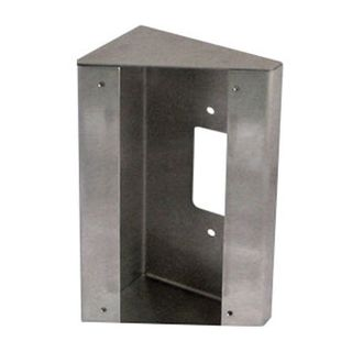AIPHONE, Surface mount box,30 degree angle, stainless steel, suits JODV, JFDV, JPDV, JPDV,