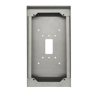 AIPHONE, Surface mount box, stainless steel, suits  IX-DVF-P,IX-DVF-RA,IX-DVF-2RA,IX-SSA-RA,IX-SSA-2RA