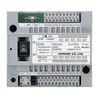 AIPHONE, GT Series, Video bus controller, Requires GTVBX for more than 16 door stations,
