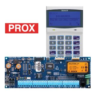 BOSCH, Solution 6000, PCB (CC610PB) + Smart Prox key pad  (CP722B) LCD, 144 zone, White, Suits Solution 6000 panel,