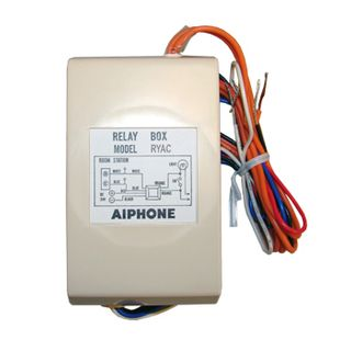 AIPHONE, External signalling relay, Allows intercom station to be signalled by external device, Suits IE8MD, LEF and TD Series