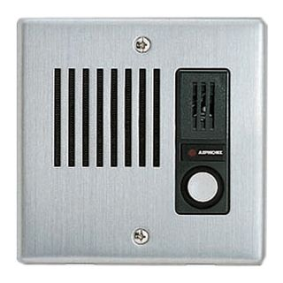 AIPHONE, IE Series, Door station, Audio, Stainless steel, Flush mount, Weather resistant,