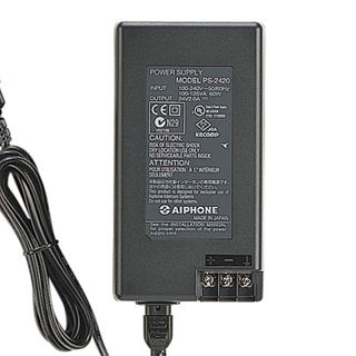 AIPHONE PS-2420, Power supply, 24V DC 2A, Linear regulated, Thermal & short circuit protection,