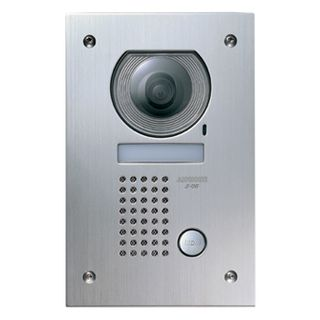AIPHONE, JF Series, Door station, Video, Colour, Stainless steel plate, Flush mount, Vandal resistant, Suits JF1MD and JF2MED,
