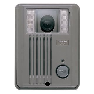 AIPHONE, JF Series, Door station, Video, Colour, Silver plastic, Surface mount, Suits JF1MD and JF2MED,