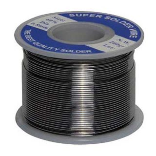 NETDIGITAL, Resin Core Solder, 60% tin, 40% lead, 1.0mm, 200gm roll