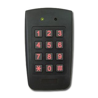 ROSSLARE, Keypad, Plastic body, 4x3 style, Standalone,  500 Users, Optical tamper switch, Lock and Aux outputs, Weather resistant, 12/24V AC/DC @ 135mA,