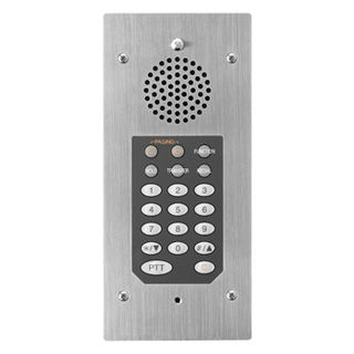 TOA, 8000 Series, Flush mount Hands-free Master station, Non IP addressable, connects to a Toa IP intercom exchange