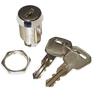 NETDIGITAL, Key switch, 2 position, Keyed alike, Single pole, Change over contacts,