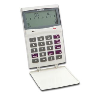 BOSCH, Solution 16i, Key pad, Icon LCD, 16 zone, White, Touch tone & backlit keys, Suits Solution 16i panels,
