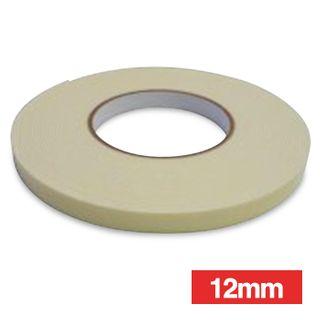 WATTMASTER, Double sided tape, 12mm width, 10m roll,