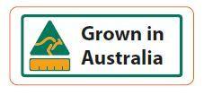 LABEL ORIGIN GROWN IN AUS. [1000]