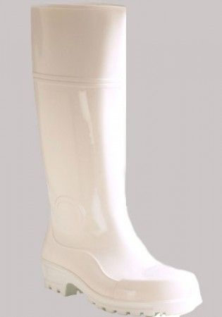 BOOTS WHITE KNEE LENGTH SIZE 10