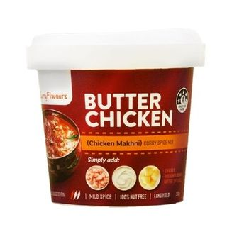 RETAIL CURRY FLAVOURS BUTTER CHICK 100G