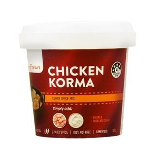 RETAIL CURRY FLAVOURS KORMA 100G [8]