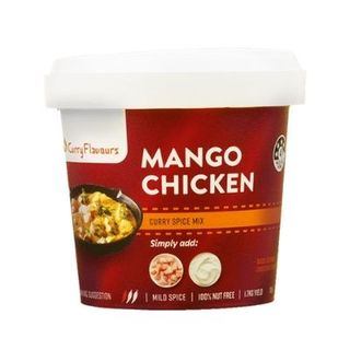 RETAIL CURRY FLAVOURS MANGO CURRY 100G