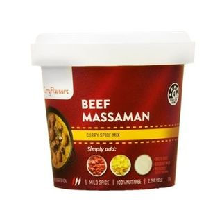 RETAIL CURRY FLAVOURS MASSAMAN 100G [8]