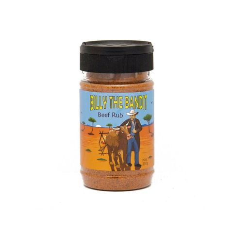 RETAIL RUB BILLY THE BANDIT BEEF 250G