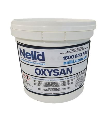 CLEANER NEILD OXY SAN STAIN REMOVER 5KG
