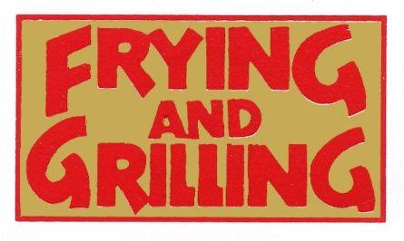LABEL FOIL FRYING GRILLING [500]