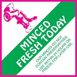 LABEL MINCED FRESH TODAY [500]