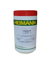 ADDITIVE HEIMANN CHINESE RED COLOUR 1KG