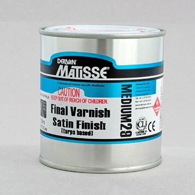 Matisse Satin Final Varnish