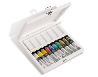Artists' Oil Paints White Set