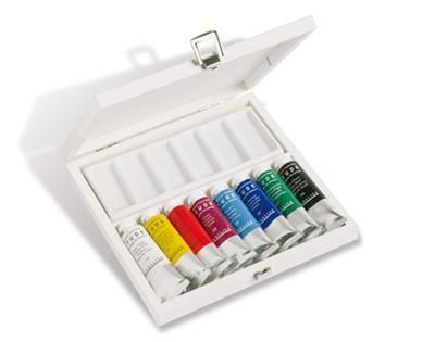 Etude Oil Paints White Set