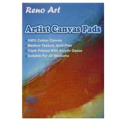 Reno Art Artist Canvas Pad