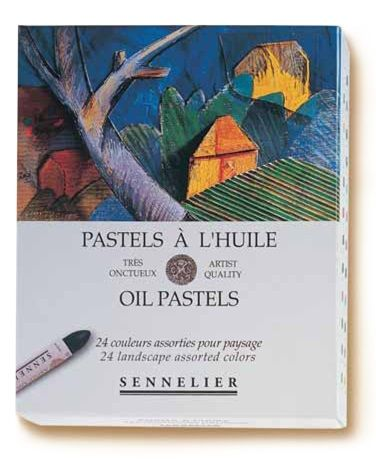 Oil Pastels Box of 24