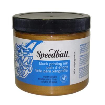 Speedball Ink W/B 16oz Tub